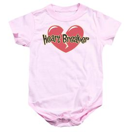 Heart Breaker Infant Snapsuit Pink Sm