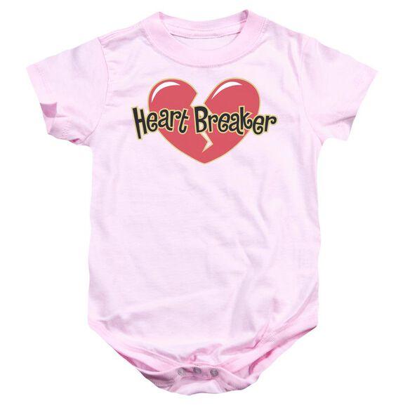Heart Breaker Infant Snapsuit Pink Sm