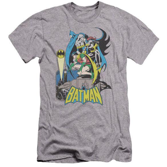 DC BATMAN HEROIC TRIO-HBO S/S ADULT T-Shirt