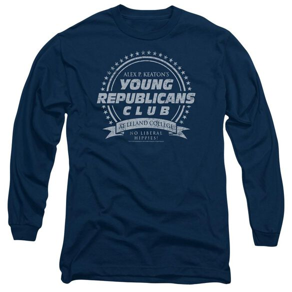 Family Ties Young Republicans Club Long Sleeve Adult T-Shirt