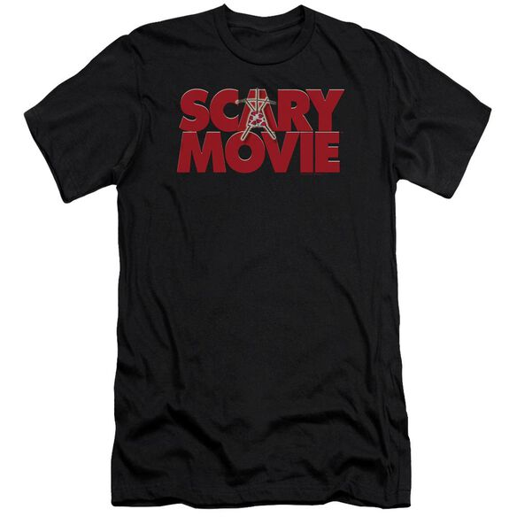 Scary Movie Logo Short Sleeve Adult T-Shirt