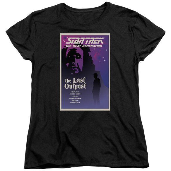 Star Trek Tng Season 1 Episode 5 Short Sleeve Womens Tee T-Shirt