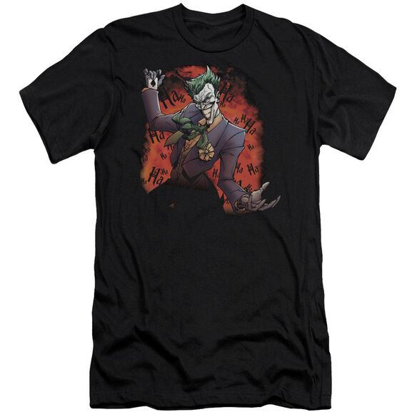 Batman Joker's Ave Short Sleeve Adult T-Shirt