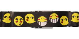 Cowboy Bebop Ed Smiley Faces Seatbelt Belt