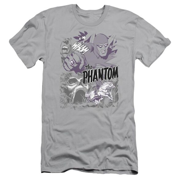 Phantom Ghostly Collage Short Sleeve Adult T-Shirt