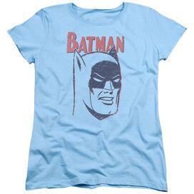 Batman Crayon Man Short Sleeve Womens Tee Light T-Shirt