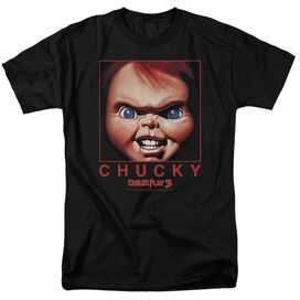 Childs Play Chucky Squared Short Sleeve Adult T-Shirt