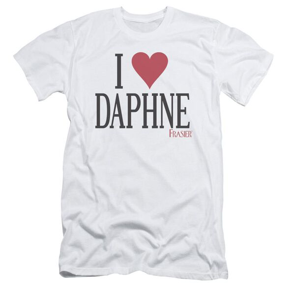 Frasier I Heart Daphne Short Sleeve Adult T-Shirt