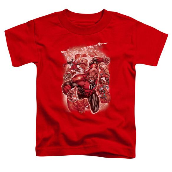 Green Lantern Red Lanterns #1 Short Sleeve Toddler Tee Red Md T-Shirt