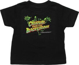 Creature from the Black Lagoon Lunge Toddler T-Shirt