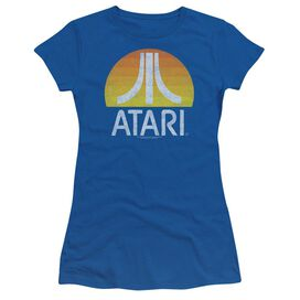 Atari Sunrise Eroded Short Sleeve Junior Sheer Royal T-Shirt