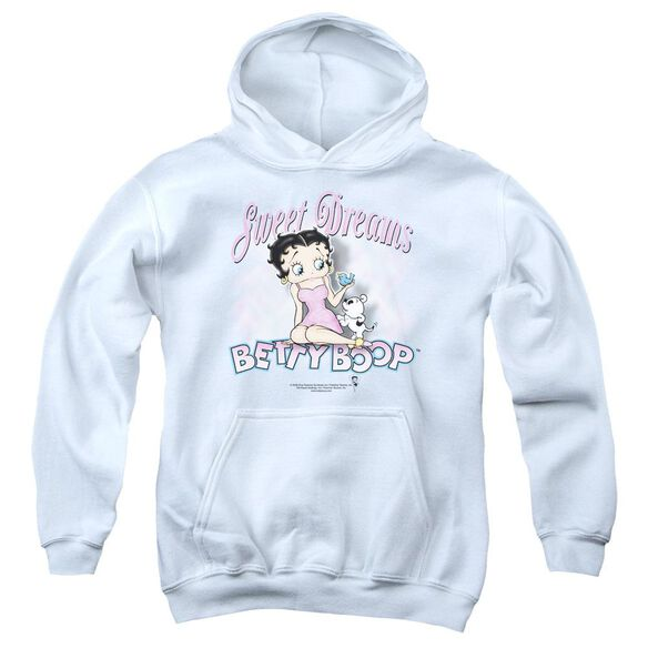 Betty Boop Sweet Dreams Youth Pull Over Hoodie