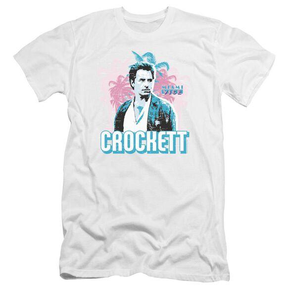 Miami Vice Crockett Premuim Canvas Adult Slim Fit