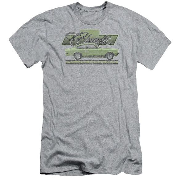 Chevrolet Vega Car Of The Year 71 Short Sleeve Adult Athletic T-Shirt