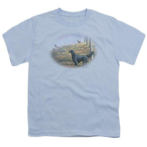 Wildlife Looking Back Short Sleeve Youth Light T-Shirt