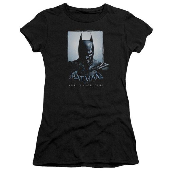 Batman Arkham Origins Two Sides Short Sleeve Junior Sheer T-Shirt