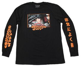 Clockwork Orange Kanji Long Sleeve T-Shirt