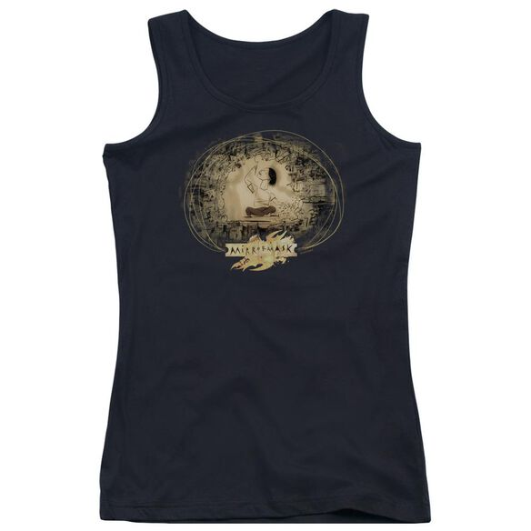 Mirrormask Sketch Juniors Tank Top