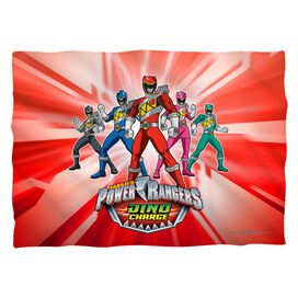 Power Rangers Dino Ranger Pillow Case White