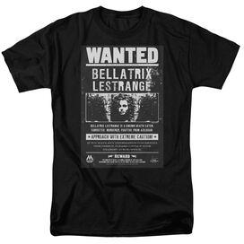 Harry Potter Wanted Bellatrix Short Sleeve Adult T-Shirt