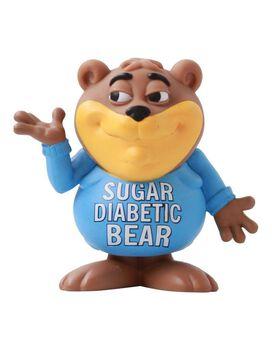 Sugar Diabetic Bear Vinyl Figure Ron English Popaganda