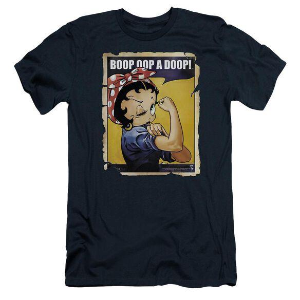 Betty Boop Power Short Sleeve Adult T-Shirt