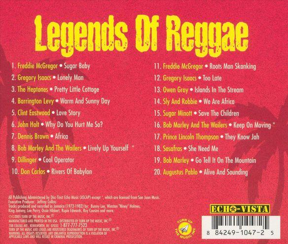 Legends Of Reggae V1 0505