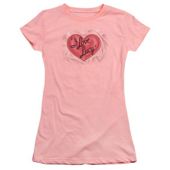 I Love Lucy Classic Logo Premium Bella Junior Sheer Jersey