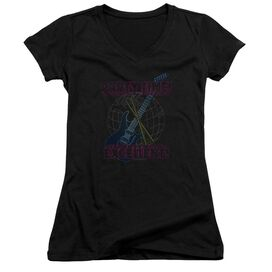 Snl Party World Junior V Neck T-Shirt