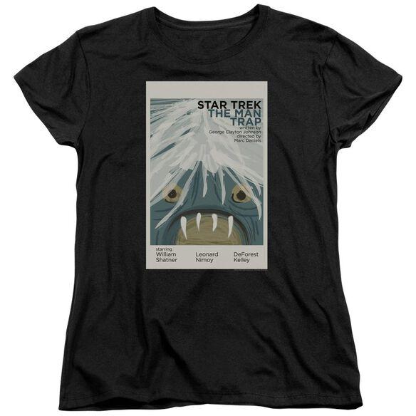 Star Trek Tos Episode 1 Short Sleeve Womens Tee T-Shirt