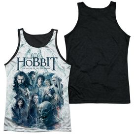 Hobbit Ready For Battle Adult Poly Tank Top Black Back
