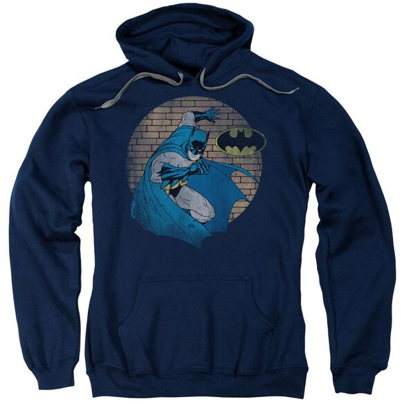 Batman In The Spotlight Adult Pull Over Hoodie