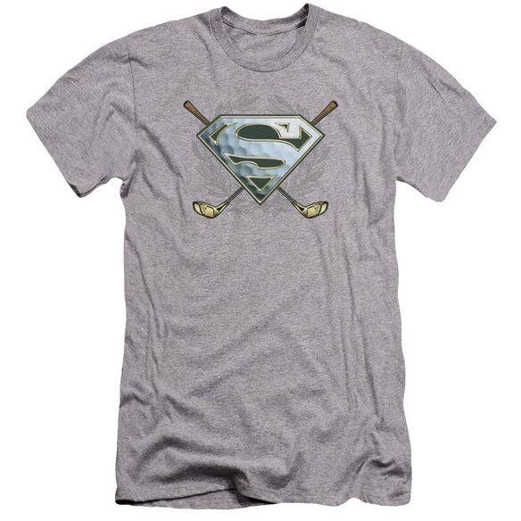 Superman Fore! Premuim Canvas Adult Slim Fit Athletic