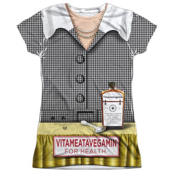 I Love Lucy Vita Costume Alternate Short Sleeve Junior Poly Crew T-Shirt