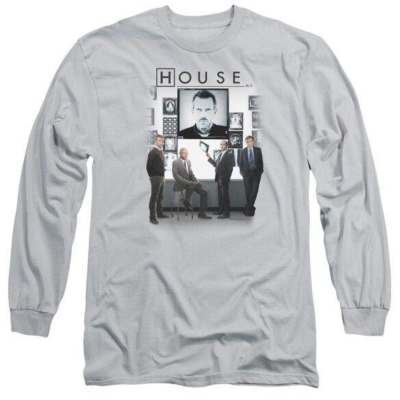 House The Cast Long Sleeve Adult T-Shirt