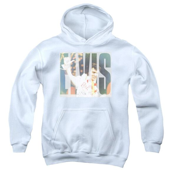 Elvis Presley Aloha Knockout Youth Pull Over Hoodie