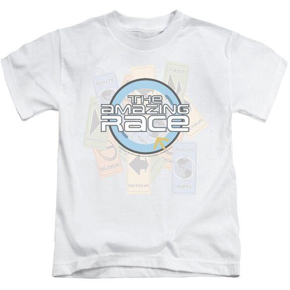 Amazing Race The Race Short Sleeve Juvenile T-Shirt