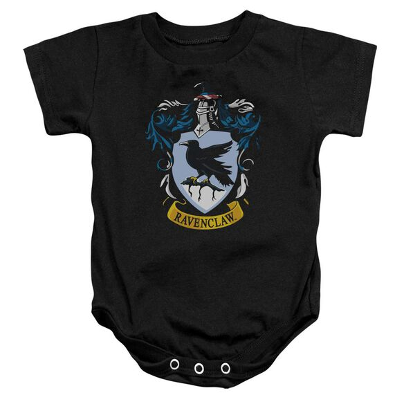Harry Potter Ravenclaw Crest Infant Snapsuit Black