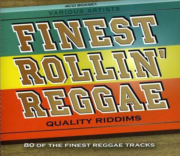 Finest Rollin Reggae: Quality Riddims / Various