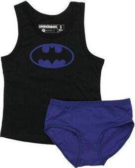 Batman Purple Logo Youth Tank Pajama Set
