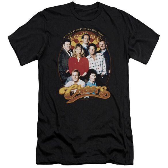 Cheers Group Shot Short Sleeve Adult T-Shirt