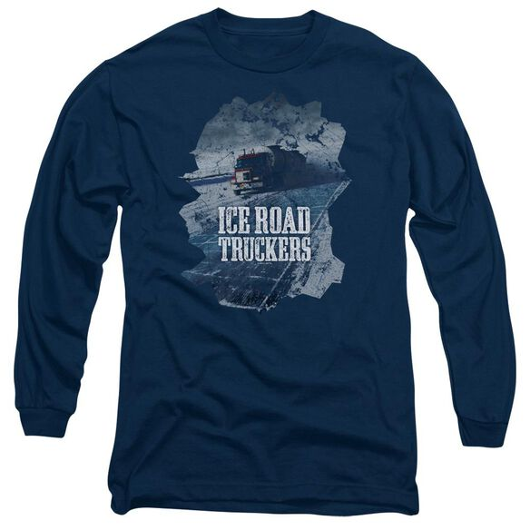 Ice Road Truckers Ice Road Long Sleeve Adult T-Shirt