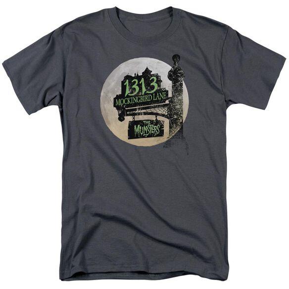The Munsters Moonlit Address Short Sleeve Adult T-Shirt