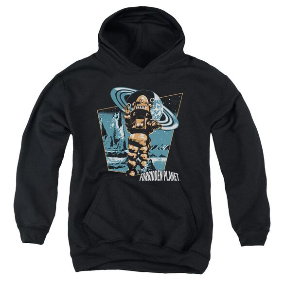 Forbidden Planet Robby Walks Youth Pull Over Hoodie