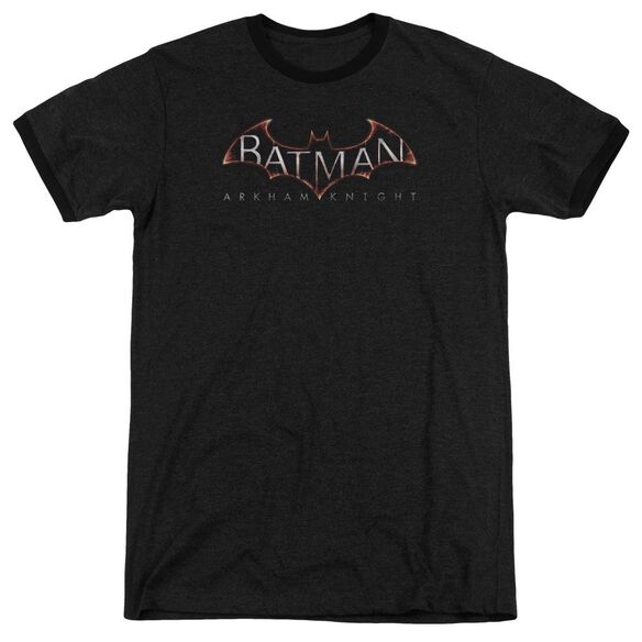 Batman Arkham Knight Logo Adult Heather Ringer