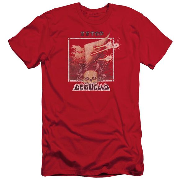 Zz Top Deguello Cover Short Sleeve Adult T-Shirt