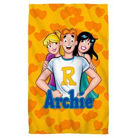 Archie Love Triangle Face Hand Towel