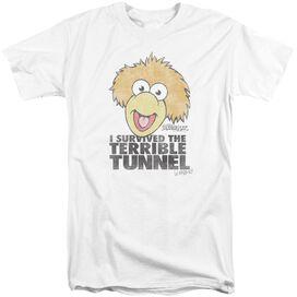 Fraggle Rock Terrible Tunnel Short Sleeve Adult Tall T-Shirt