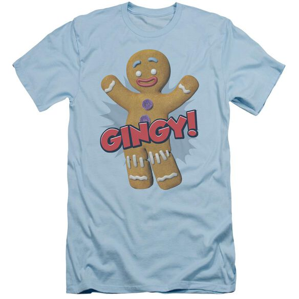 Shrek Gingy Short Sleeve Adult Light T-Shirt