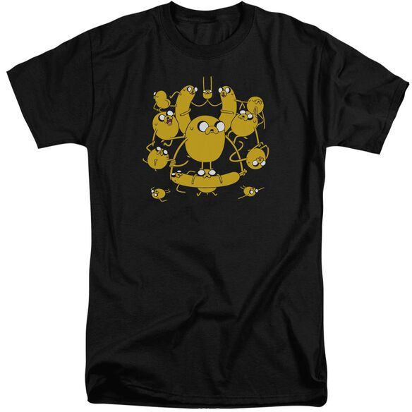 Adventure Time Jakes Short Sleeve Adult Tall T-Shirt